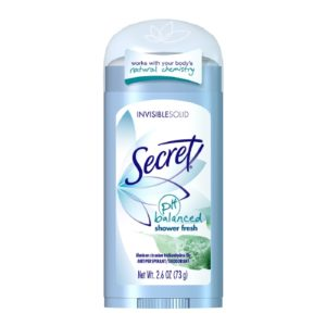 Secret deodorant shower fresh