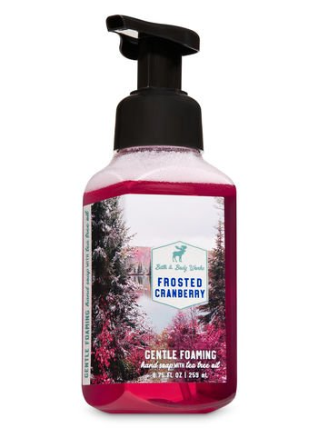 bbw foam soap frosted cranberry