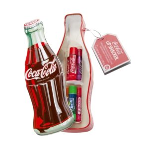 Lip smacker coca cola vintage bottle tin box