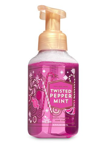 bbw foam soap twisted peppermint