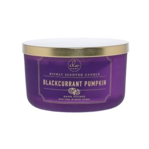 DW Home Blackcurrant Pumpkin 3wick