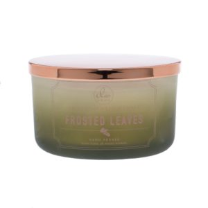 DW Home Frosted Leaves 3wick