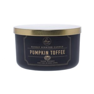 DW Home Pumpkin Toffee 3wick