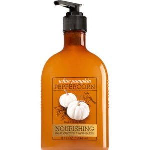 bbw white pumpkin peppercorn soap