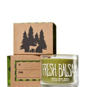 bbw fresh balsam mini