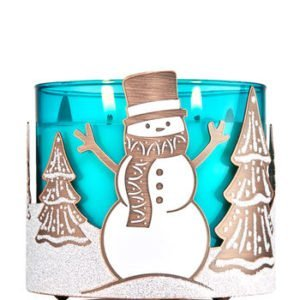 bbw frosted snowman
