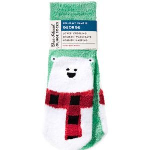 bbw socks polar bear