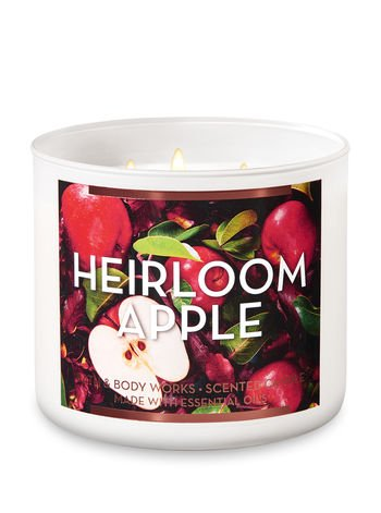 bbw 3-wick heirloom apple