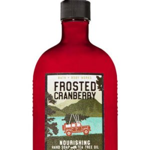 bbw soap frosted cranberry
